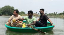 Simbu at Salem to study the water conservation work in person.