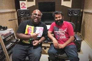 Santhosh Narayanan is all praise for Yogi B | Image source @Music_Santhosh/ Twitter
