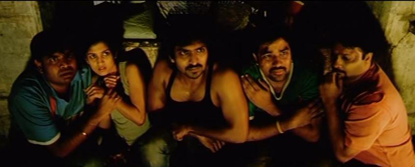 A still from Saroja movie.