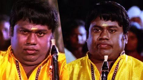A still from Karakattakaran movie.