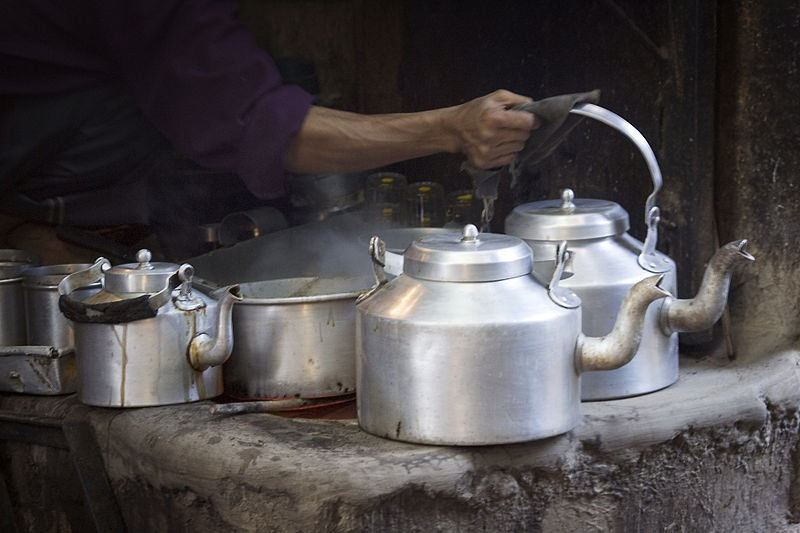 Tea seller in Varanasi