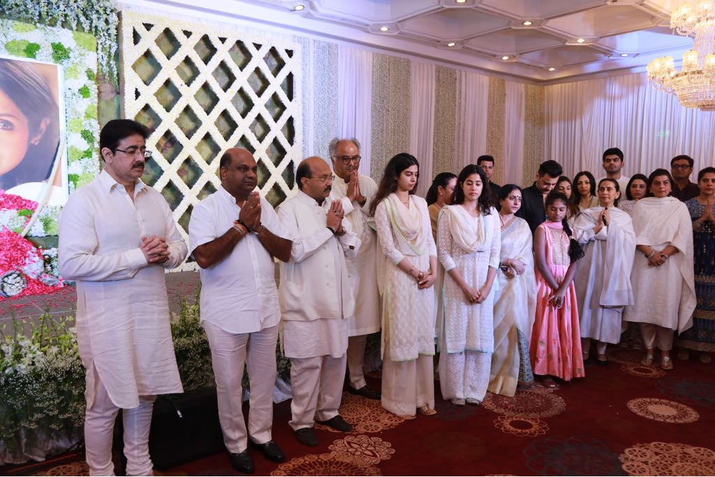 Sridevi's Prayer meet