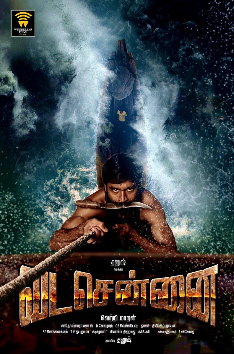 Dhanush as Anbu in Vada Chennai