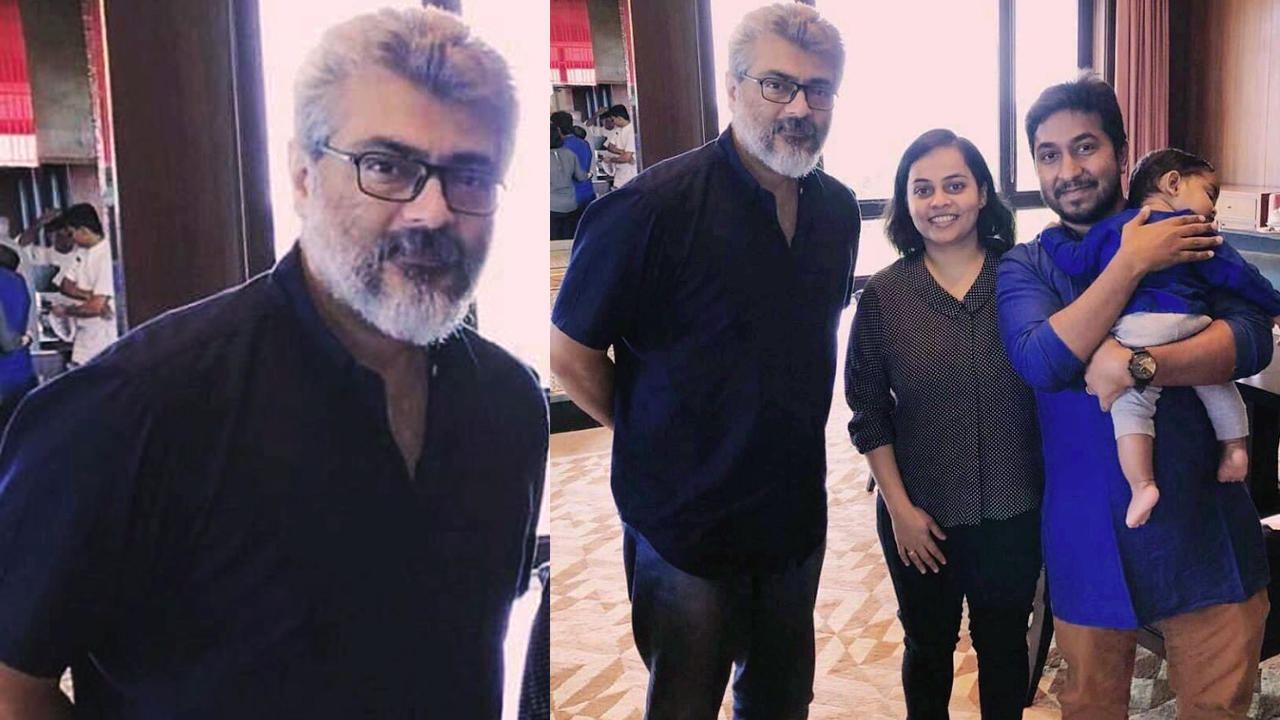 When Mollywood director-singer-actor Vineeth Sreenivasan, and his family, met Thala Ajith