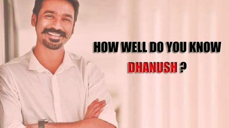 Dhanush quiz