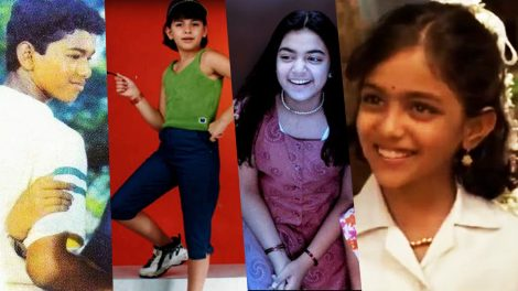 Kollywood celebrities that made their debut as child artists
