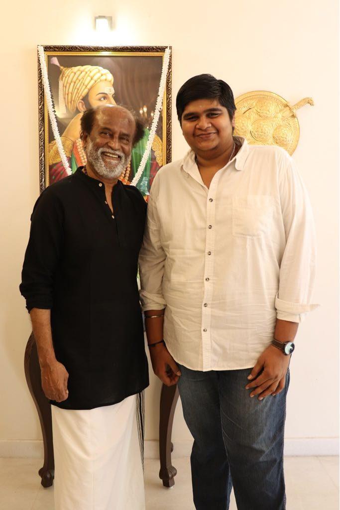 Rajinikanth with Mercury team