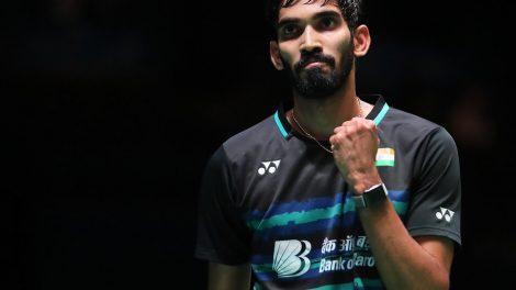 Kidambi Srikanth becomes world's No.1 Badminton player