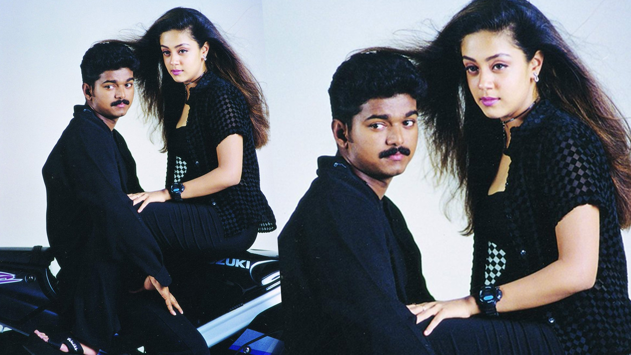 Vijay, Jyothika starrer Kushi movie RARE stills - Suryan FM
