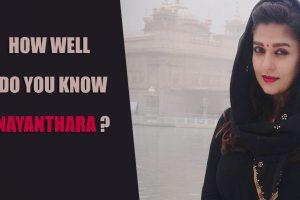 Nayanthara quiz