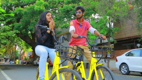 Ofo bikes in Coimbatore
