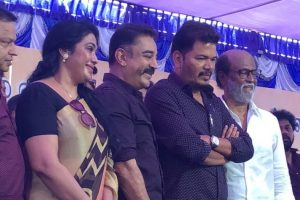 Rajini and Kamal protest Cauvery Management Board