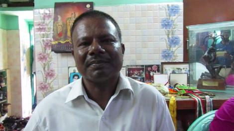 Sathish Sivalingam father