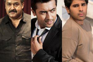 Mohanlal, Suriya and Allu Sirish