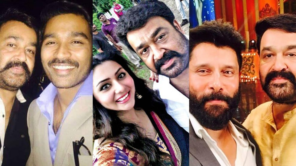 Celebs share their special moments with Mohanlal