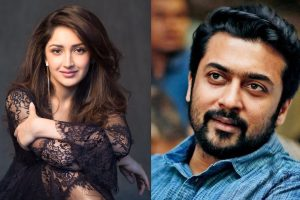 Sayyeshaa to work with Suriya in his next!