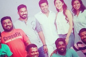Ghajinikanth shoot wrapped up says Arya