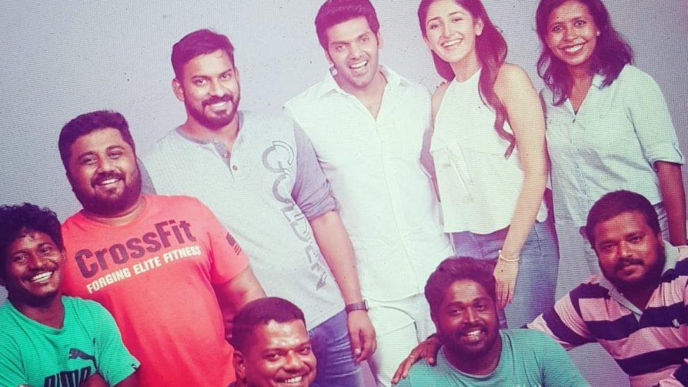 Ghajinikanth shoot wrapped up says Arya