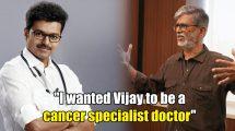 SA Chandrasekhar on Vijay