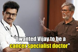 SA Chandrasekhar on Vijay