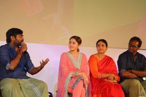 Vijay Sethupathi and Sayyeshaa at Junga audio launch