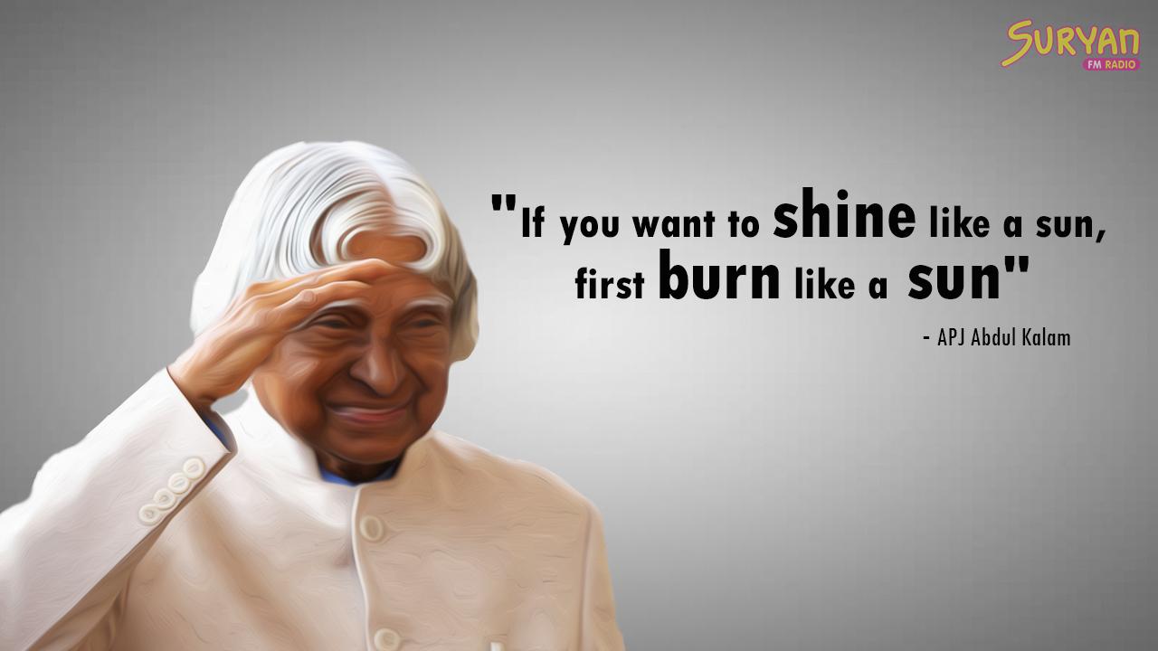Abdul Kalam Quotes 4 Suryan Fm
