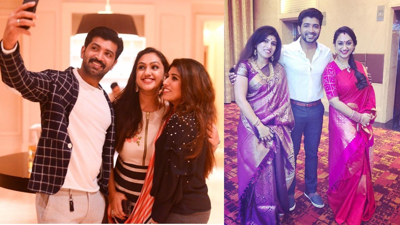 Director Hari And Pritha Hari Family Stills Suryan Fm