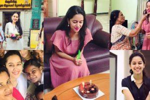 Mirnalini ravi birthday celebrations