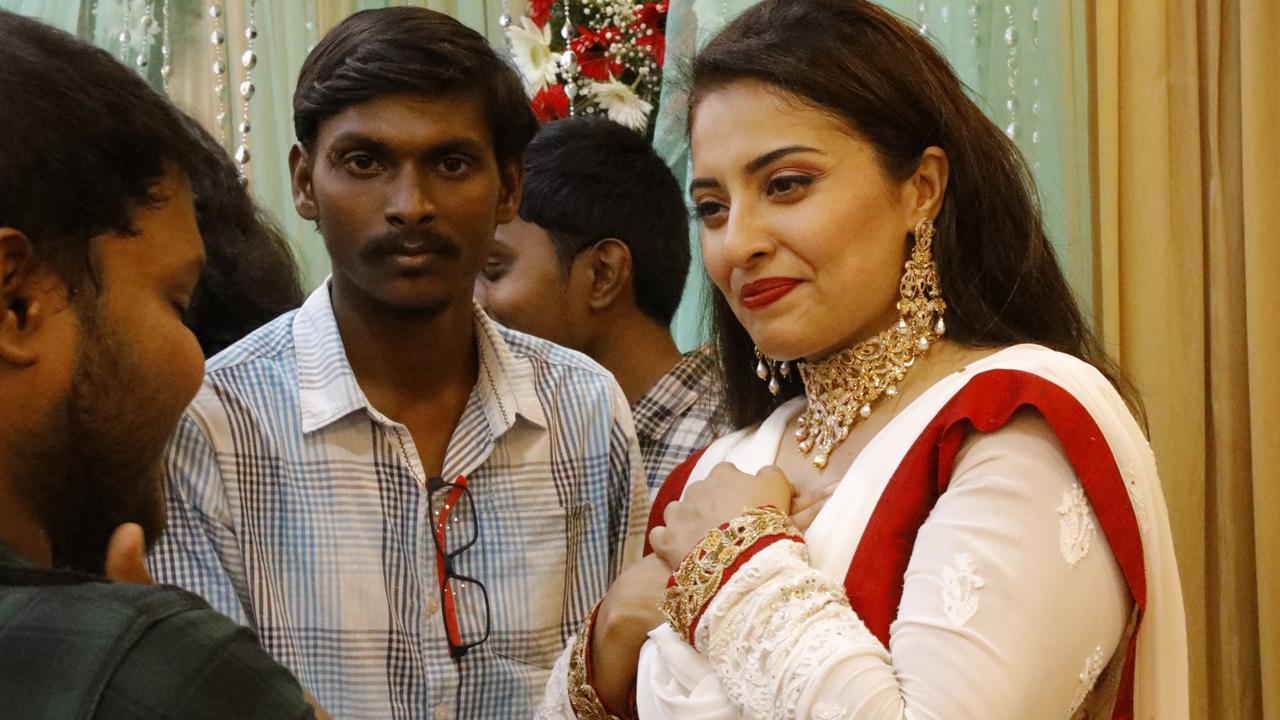 Tamil Actress Mumtaz Wedding Pictures