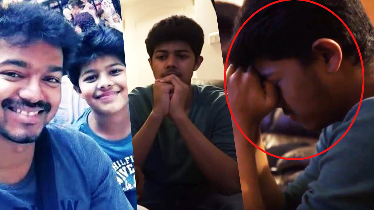 Check out this sneak peek video of Vijay's son Sanjay's short film