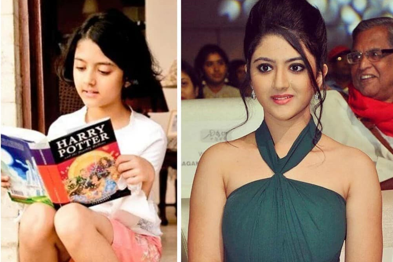 Shriya Sharma 10 year challenge