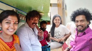 Latest pics of Riythvika with Sendrayan and Munishkanth