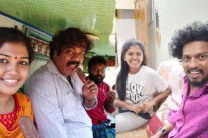 Latest pics of Riythvika with Sendrayan and Munishkanth