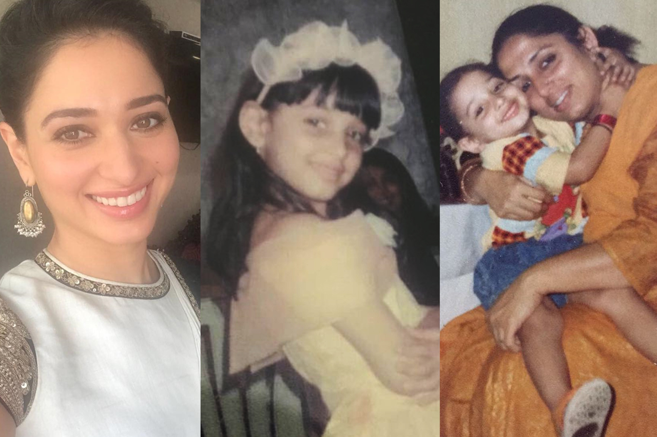 Tamannah childhood