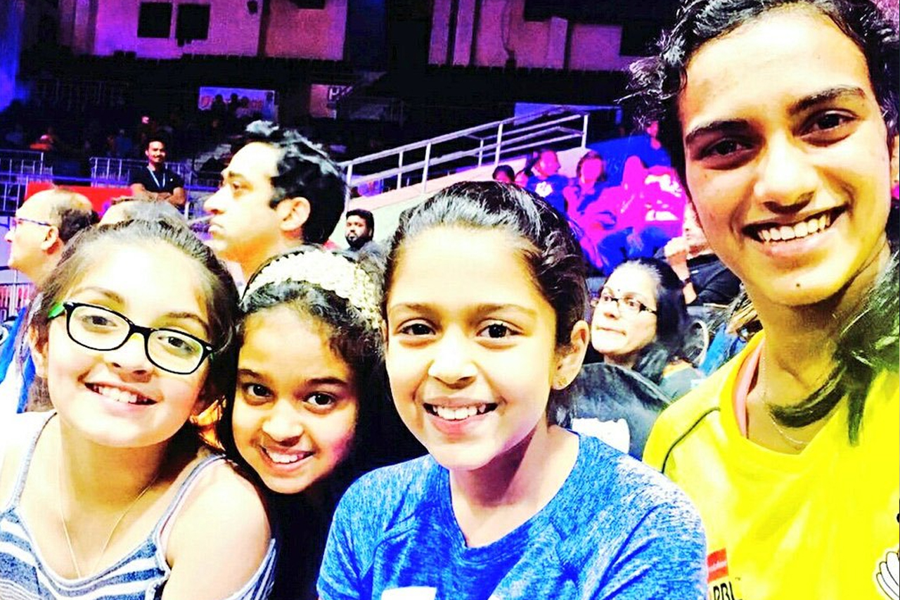 Celebrity couple Suriya-Jyothika's kids Diya and Dev - Photo Gallery