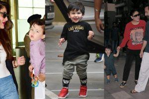 Baby Taimur with parents Kareena Kapoor Khan and Saif Ali Khan