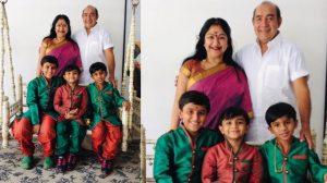Actress Anjala Zaveri Of Ullam Kollai Poguthae Fame Family Stills