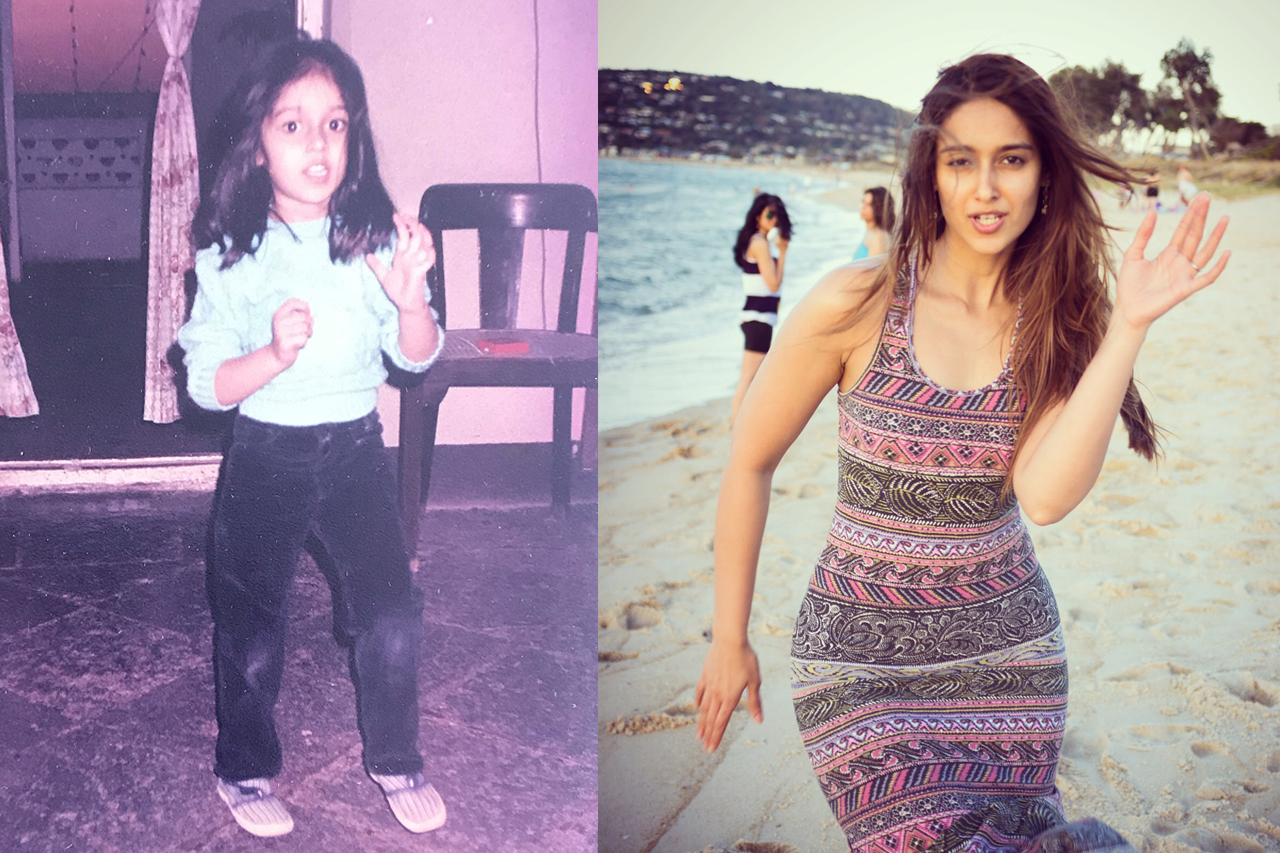 Childhood picture of Ileana