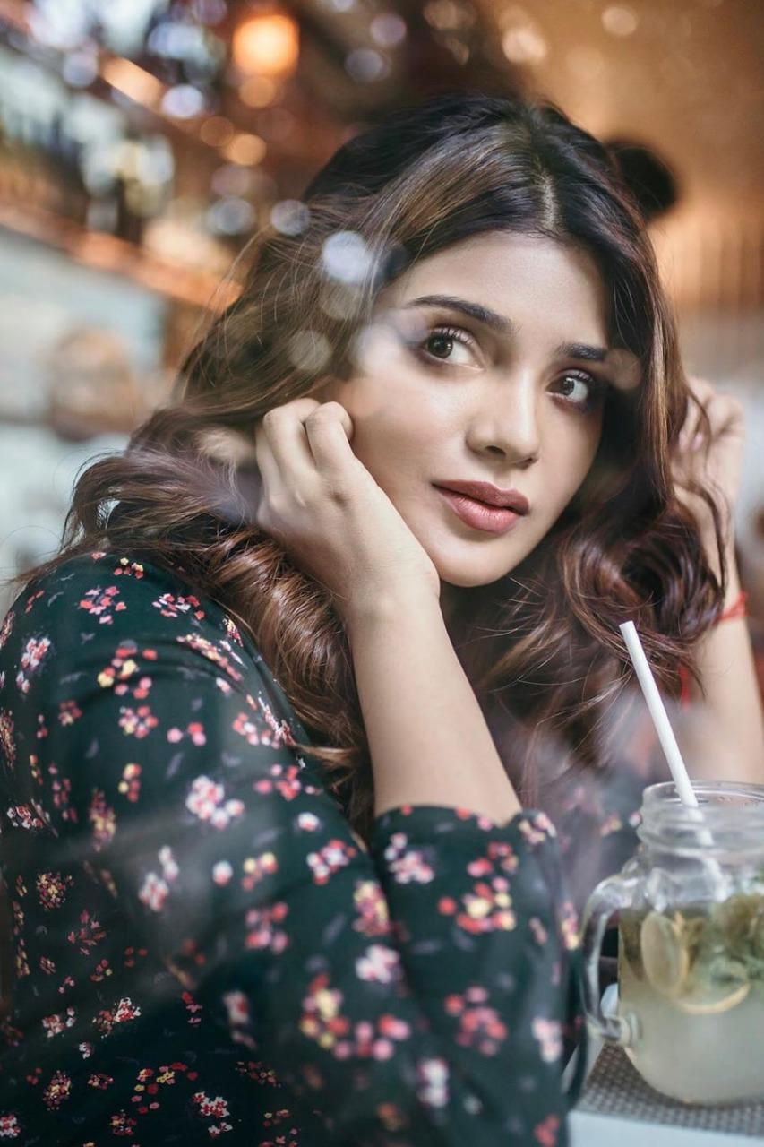 Aathmika latest stills