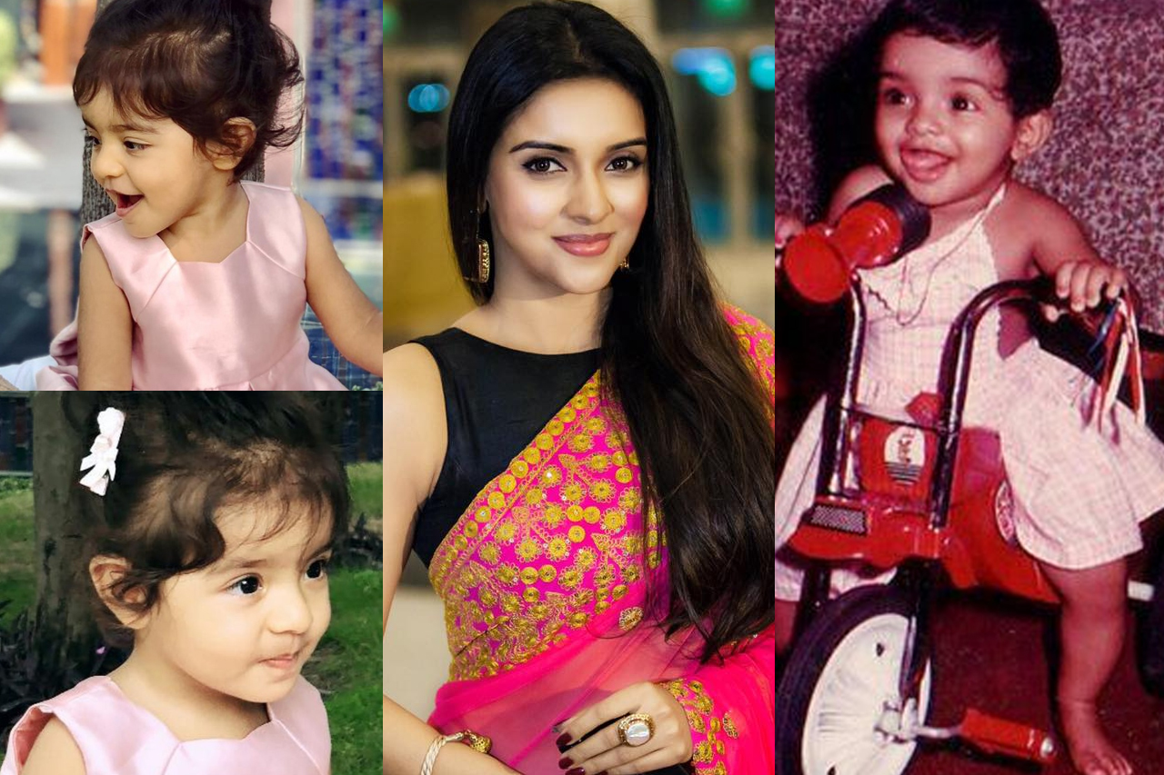 Asin and her baby Arin