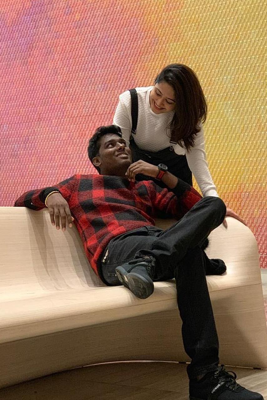 Atlee and wife Priya