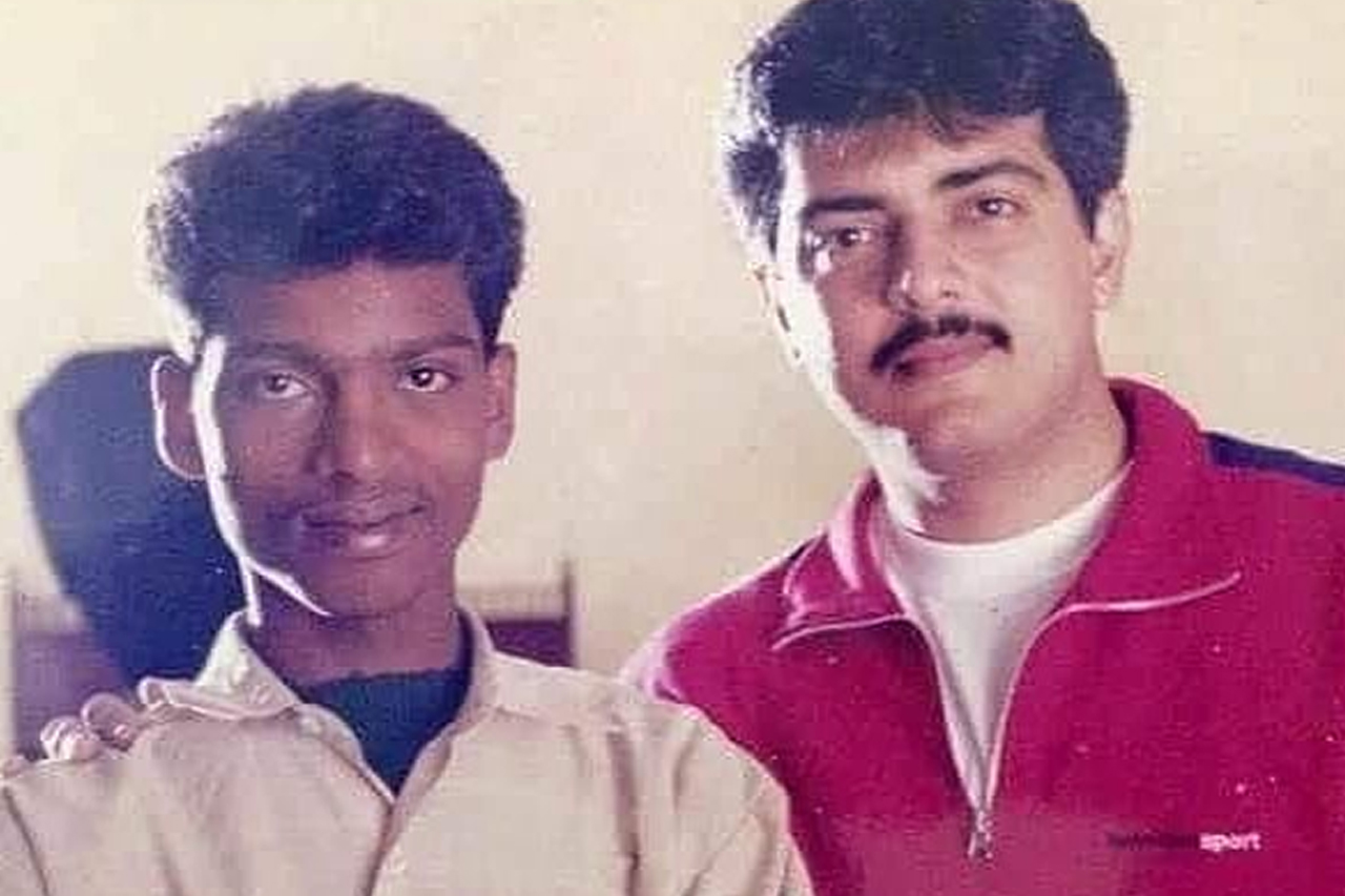 Sendrayan with Thala Ajith
