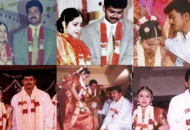 Wedding stills of Thlapathy Vijay
