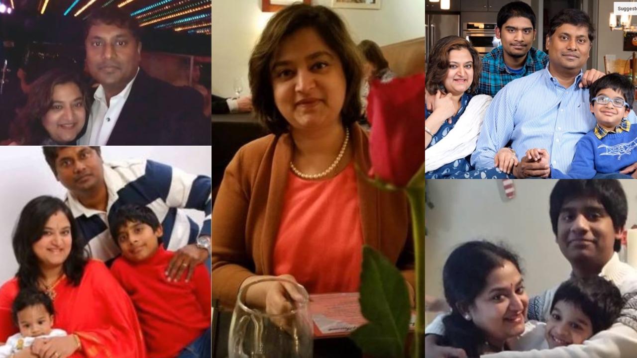 Actress Mohini- Family stills - Suryan FM