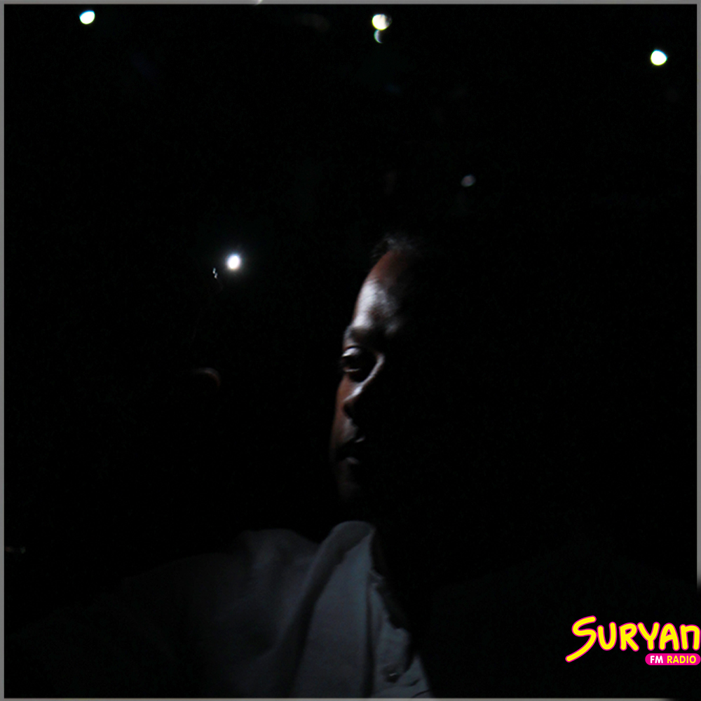 Gautham Menon at Sid Sriram concert