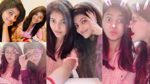 Athulya and Anjali spend some quality time with each other