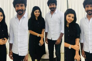 Actress Athulya posted her birthday wishes for actor Sivakarthkeyan along with these ictures