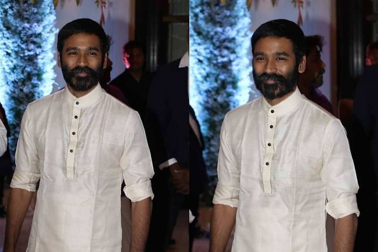 Dhanush at Soundarya Rajinikanth's wedding
