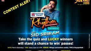 Sid Sriram Concert Quiz