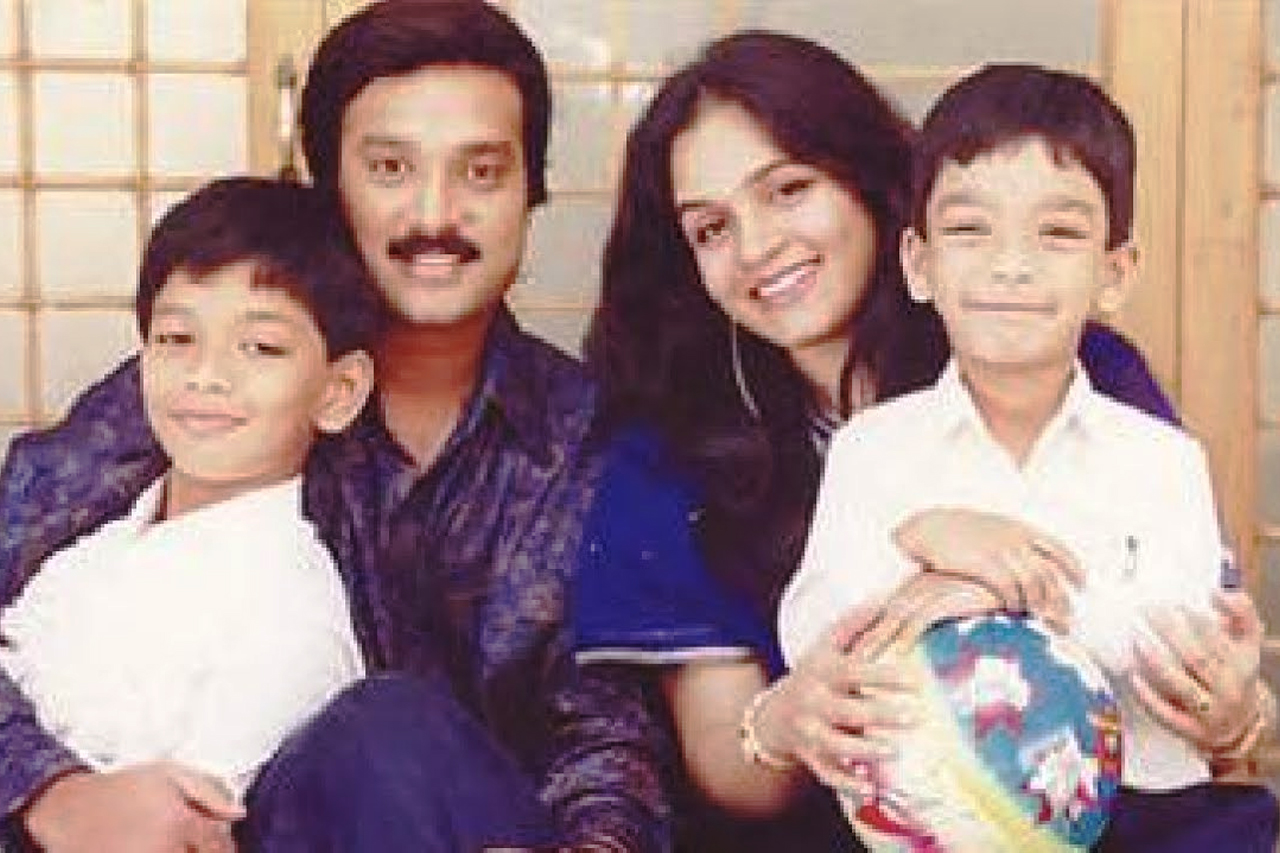 Karthik family photos